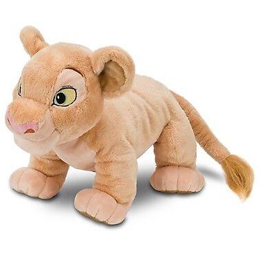 Disney Authentic Patch Lion King Nala BIG Plush Doll Stuffed Animal Toy New
