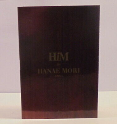 HANI LORI HIM Cologne Perfume Spray Test Sample Bottle Vial ML OZ Toilette Eau