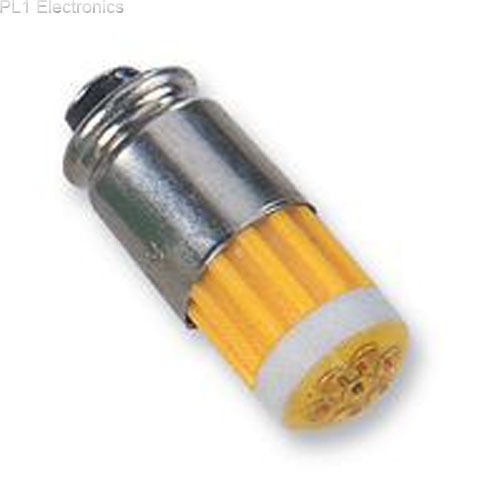 CML INNOVATIVE TECHNOLOGIES - 15121352 - LED, MID GROOVE, 24V, YELLOW
