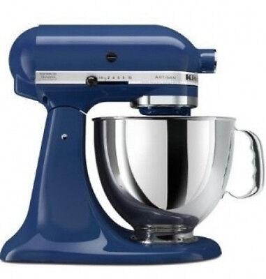 KitchenAid Stand Mixer tilt 5-Qt RRk150bw Artisan 10-speed REFURBISH Blue Willow