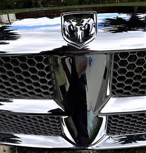 DODGE RAM 2004 FRONT GRILLE FITS OTHER YEARS CHROME