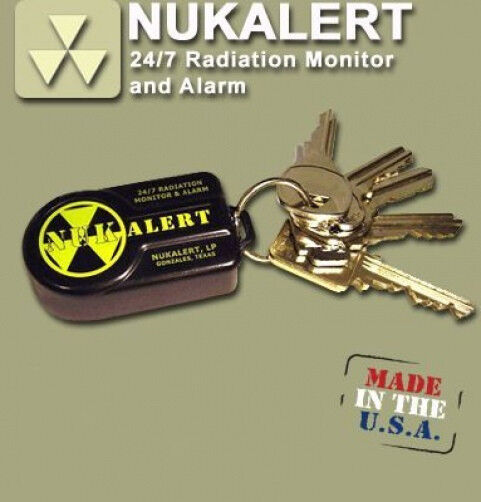 New NukAlert – Radiation Monitor & Alarm - Radiation Detector