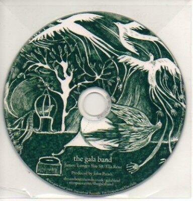 (299K) The Gala Band, James / Longer You Sit - DJ CD Gala-band