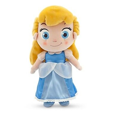 "Disney Authentic Toddler Cinderella Plush Toy Doll 12"" Princess Girls Gift NEW"