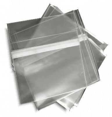100-pak Resealable Plastic Wrap Slim Cd Sleeves For 5.2mm Jewel Cases