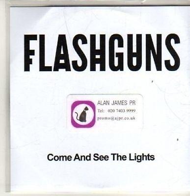(BT895) Flashguns, Come And See The Lights - DJ CD