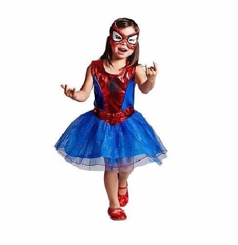 kids new marvel spider girl fancy dress 5 6yrs party halloween costume sale - Spider Girl Halloween Costumes