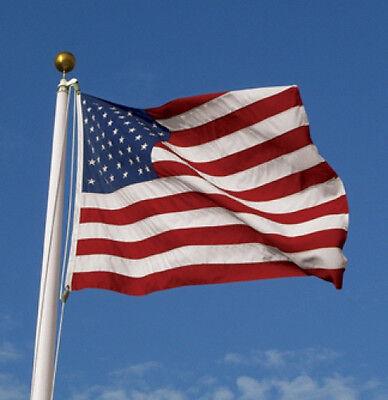 6X10 FT US AMERICAN FLAG SOLARMAX NYLON REINFORCED CORNERS US MADE FULLY SEWN