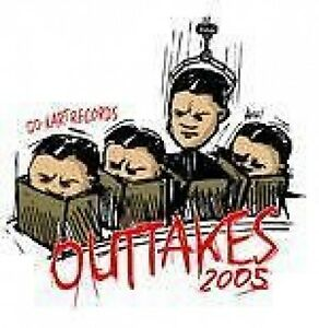 VARIOUS-OUTAKES-2005-NEW-CD-G-B-H-TEN-FOOT-POLE-RIFU-ETC