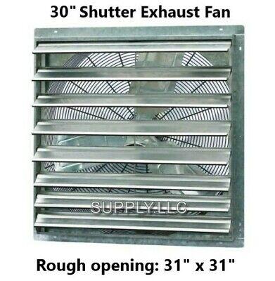 Iliving ILG8SF36S  36 Inch Single Speed Shutter Exhaust Fan,