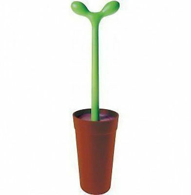 A di Alessi - ASG04 - Merdolino, toilet brush, Brown