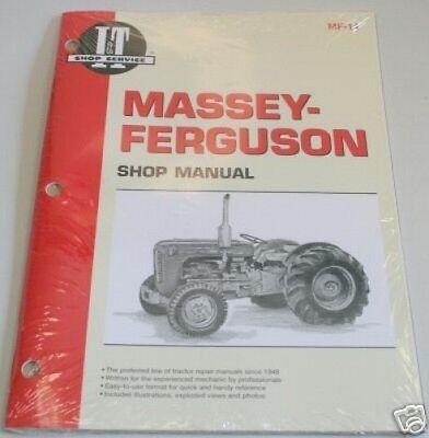 Massey Ferguson To35 F40 Mh50 Mf35 Mf50 Shop Manual Mf14