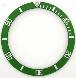 SUB-GREEN-50th-BEZEL-INSERT-FOR-ROLEX-SUBMARINER-16800-PART