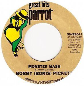 Bobby (Boris) Pickett - Monster Mash / Party - 7