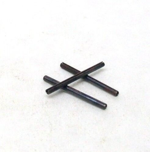 """BOX OF 100 NEW 1/16"""" X 7/8"""" SLOTTED SPRING ROLL PIN PLAIN STEEL FREE SHIPPING NH"""
