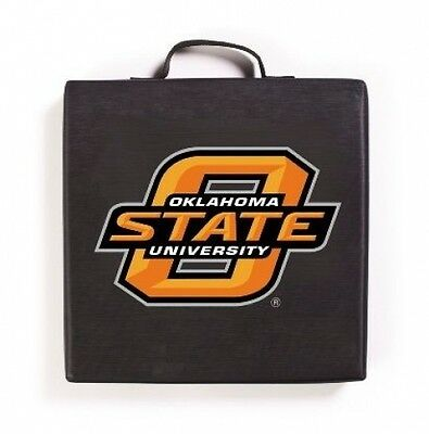 Oklahoma State Cowboys NCAA Licensed Bleacher Seat Cushion 14 x 14 x 2 - Ncaa Bleacher Cushion