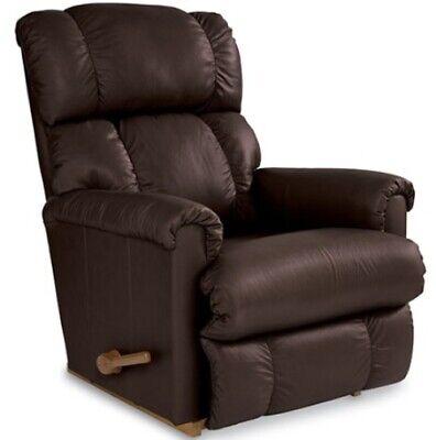Brown La-Z-Boy Leather Rocker Recliner Lazy Boy Chairs Lazyboy Chair Recliners