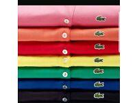 Men's Wholesale Lacoste Polo Shirts BNWT