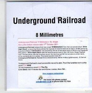 CH754-Underground-Railroad-8-Millimetres-2011-DJ-CD
