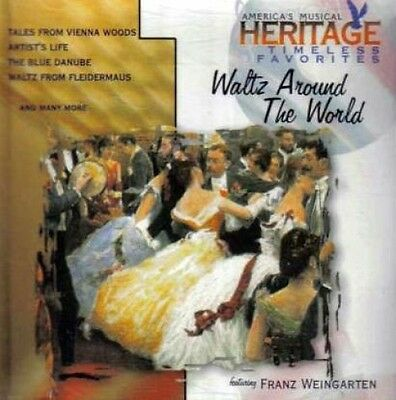 Franz Weingarten   Waltz Around The World   Cd  1997