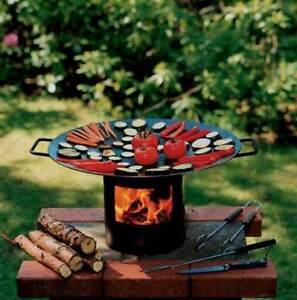 Fuoco Wok Wok Grill Barbecue Campeggio Griglia Da Viaggio