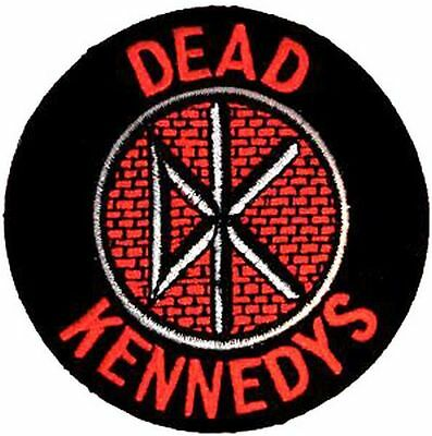 DEAD KENNEDYS LOGO - EMBROIDERED PATCH - BRAND NEW - MUSIC BAND 0485