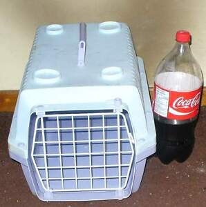1 Small pet carrier