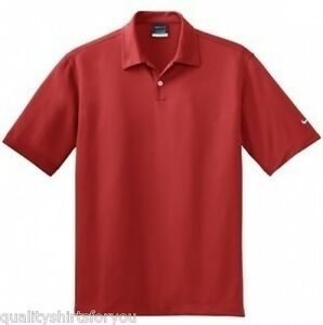 NEW NIKE GOLF Mens Dri-Fit Polo Sports Shirts Polos ANY SIZE & 9 COLORS