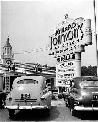 1948 Howard Johnson's Photo 8X10 - Massachusetts - Buy Any 2 Get 1 FREE
