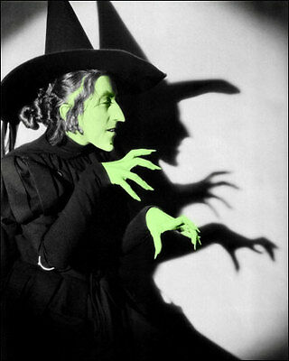 Margaret Hamilton #1 Photo 8X10 - 1939 Wizard COLORIZED