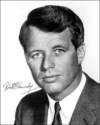 Robert Kennedy Autographed #1 Repro Photo - Bobby