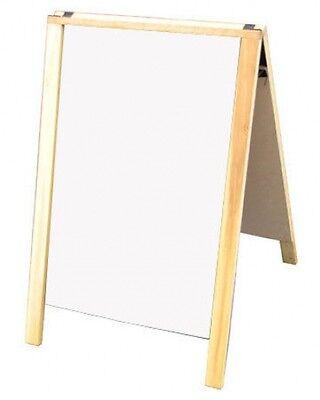 Economy 24 X 36 A-frame W Dry Erase Sidewalk Message Menu Board Sign Usa