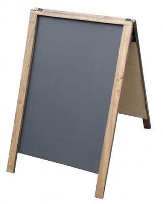 Economy 24 X 36 Dark A-frame Chalkboard Sidewalk Message Menu Board Sign