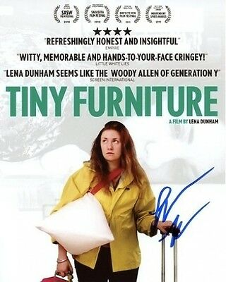 Lena Dunham Signed Autographed 8X10 Tiny Furniture Aura Photograph