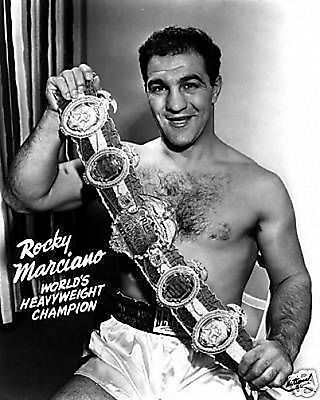 Rocky Marciano Publicity Boxing #1 10x8 Photo