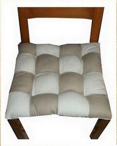 6 coussins galette dessus de chaise ebay. Black Bedroom Furniture Sets. Home Design Ideas