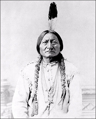 Sitting Bull #1 Photo 8X10 - Sioux Indian 1885