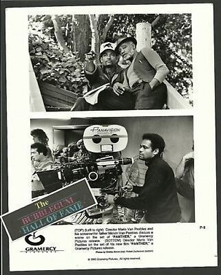 Panther Film Mario Melvin Van Peebles Press Photo