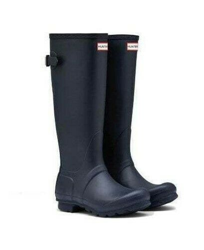 Back Adjustable Rain Boots