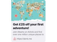 £25 Discount off your first trip