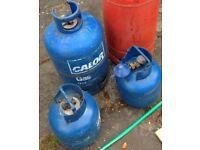 Calor gas bottles including regulators