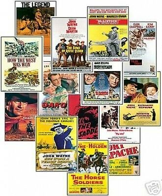 John Wayne Film Poster NEW Trading Card Set Vol2