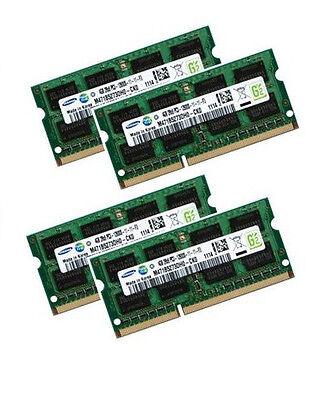 4x 4GB 16GB RAM DDR3 1600 MHz für Dell Alienware M17x R5...