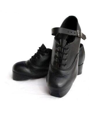 Real Irish Leather - IRISH DANCING HARD JIG SHOES FLEXI SUEDE SOLE TIPS TREBLES REAL LEATHER