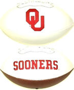 Oklahoma Sooners Football Autograph