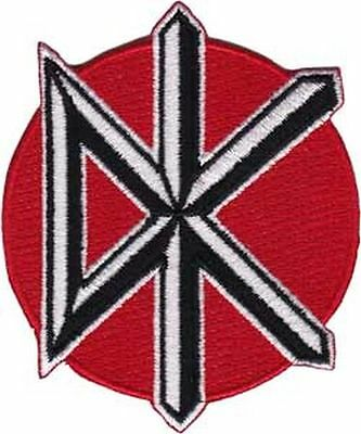 DEAD KENNEDYS - ICON LOGO - EMBROIDERED PATCH - BRAND NEW - MUSIC BAND 4098
