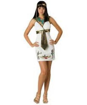 NEW Cleo Cutie Cleopatra Egyptian Pharaoh Halloween Costume Juniors Dress ](Cleo Halloween Costume)