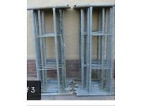 Galvanised tower scaffold 18 pieces