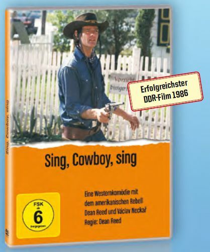 Sing, Cowboy, Sing (DVD) DDR TV-Archiv mit Dean Reed, Vaclav Neckar