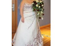 Stunning True Bride Wedding Dress